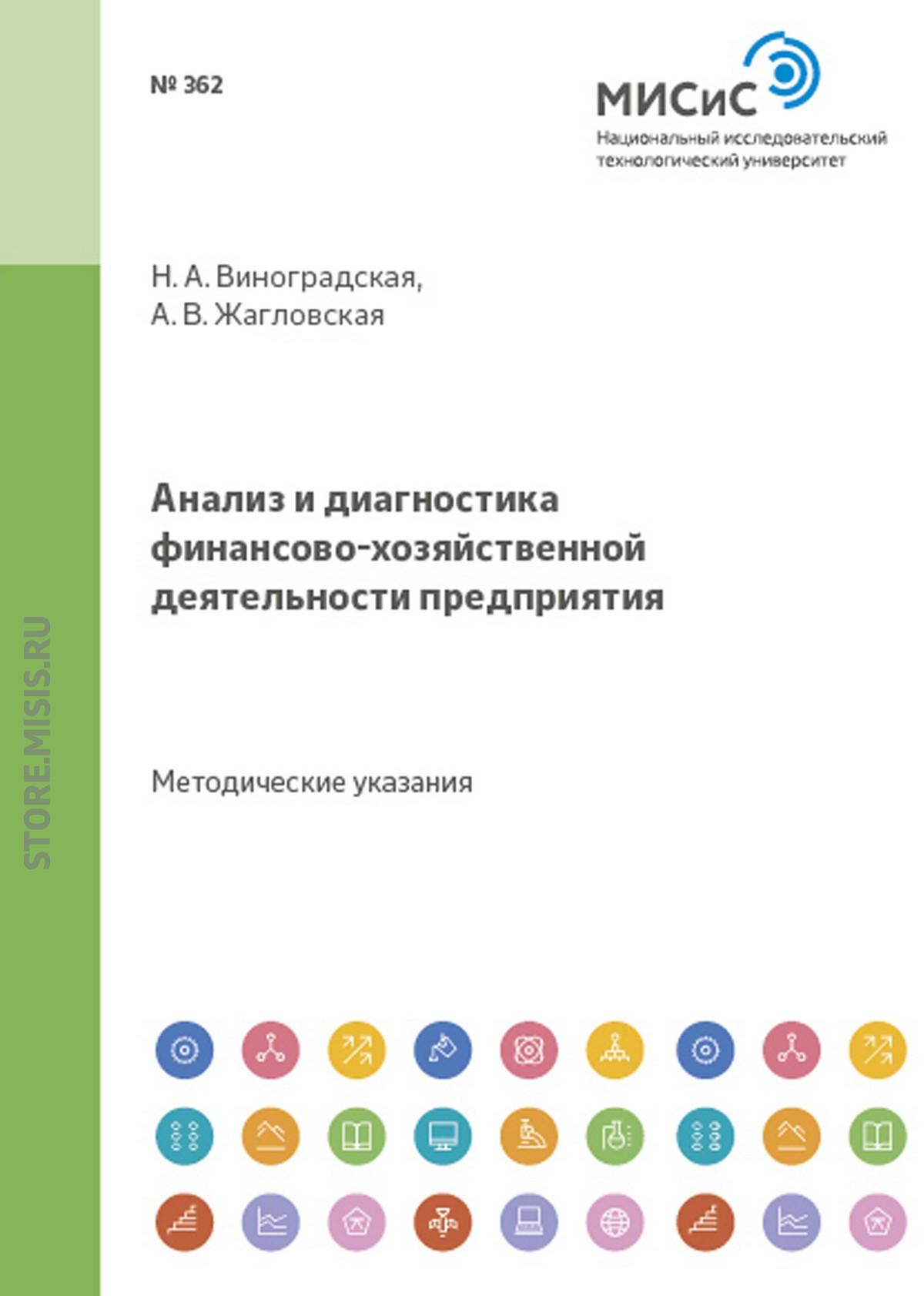 А. В. Жагловская Анализ и диагностика финансово-хозяйственной деятельности предприятия