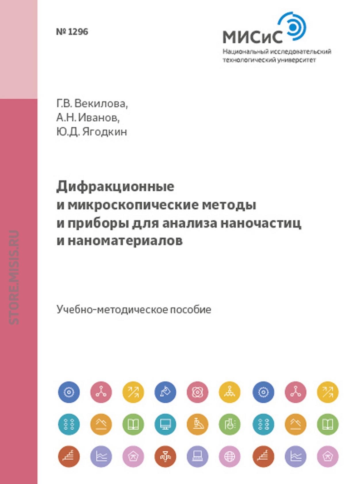 Юрий Ягодкин Дифракционные и микроскопические методы и приборы для анализа наночастиц и наноматериалов