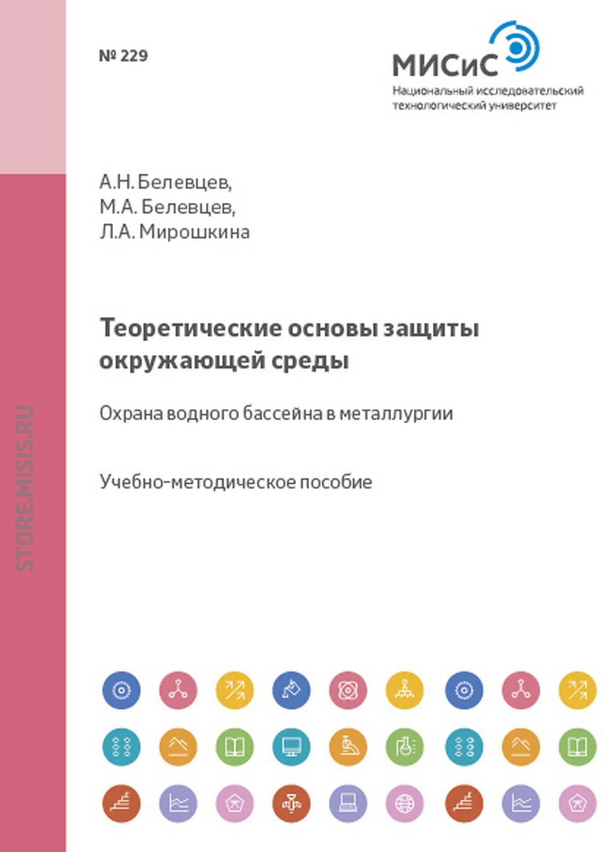 Лилия Мирошкина Теоретические основы защиты окружающей среды Охрана водного бассейна в металлургии