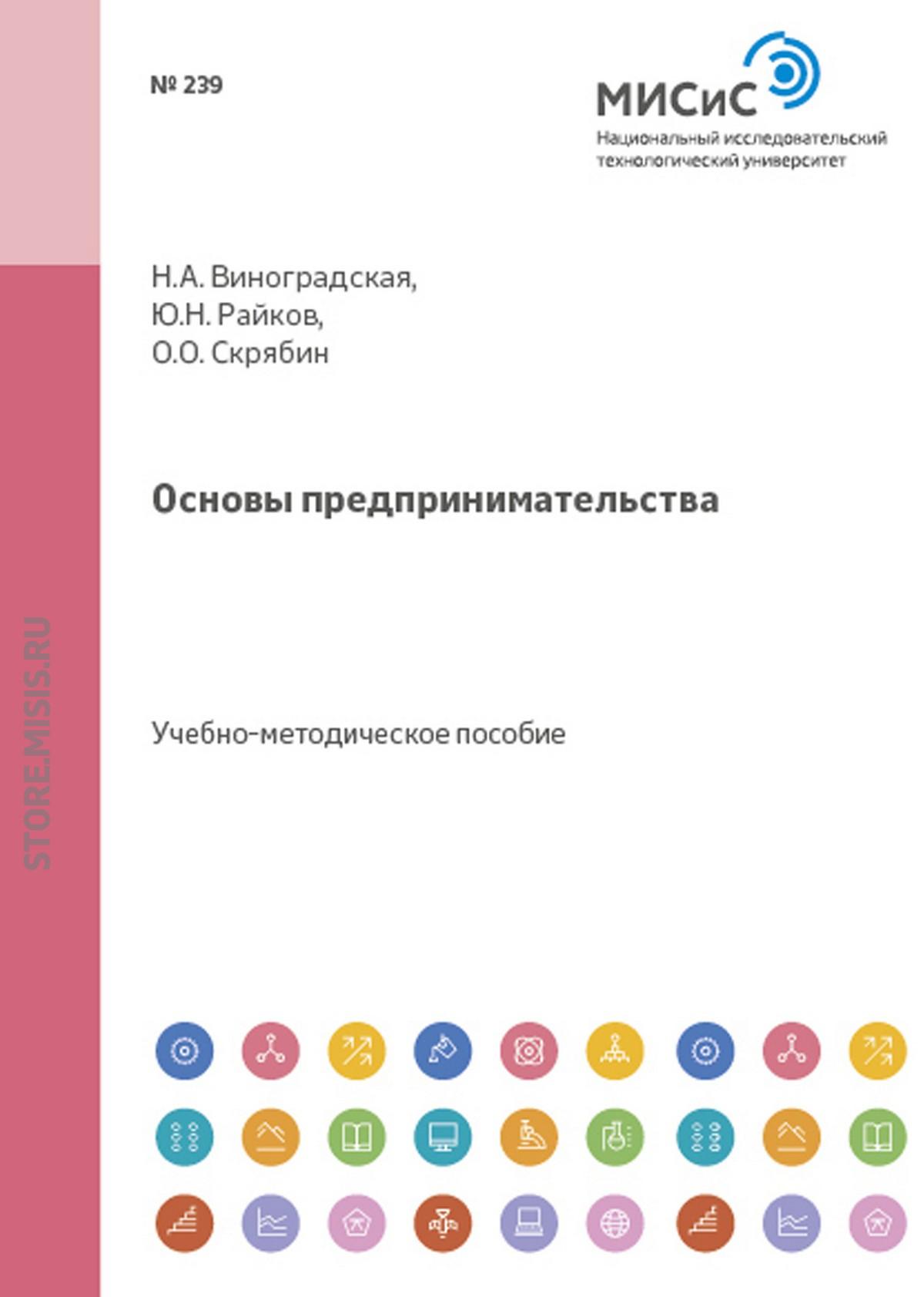 Олег Олегович Скрябин Основы предпринимательства цены
