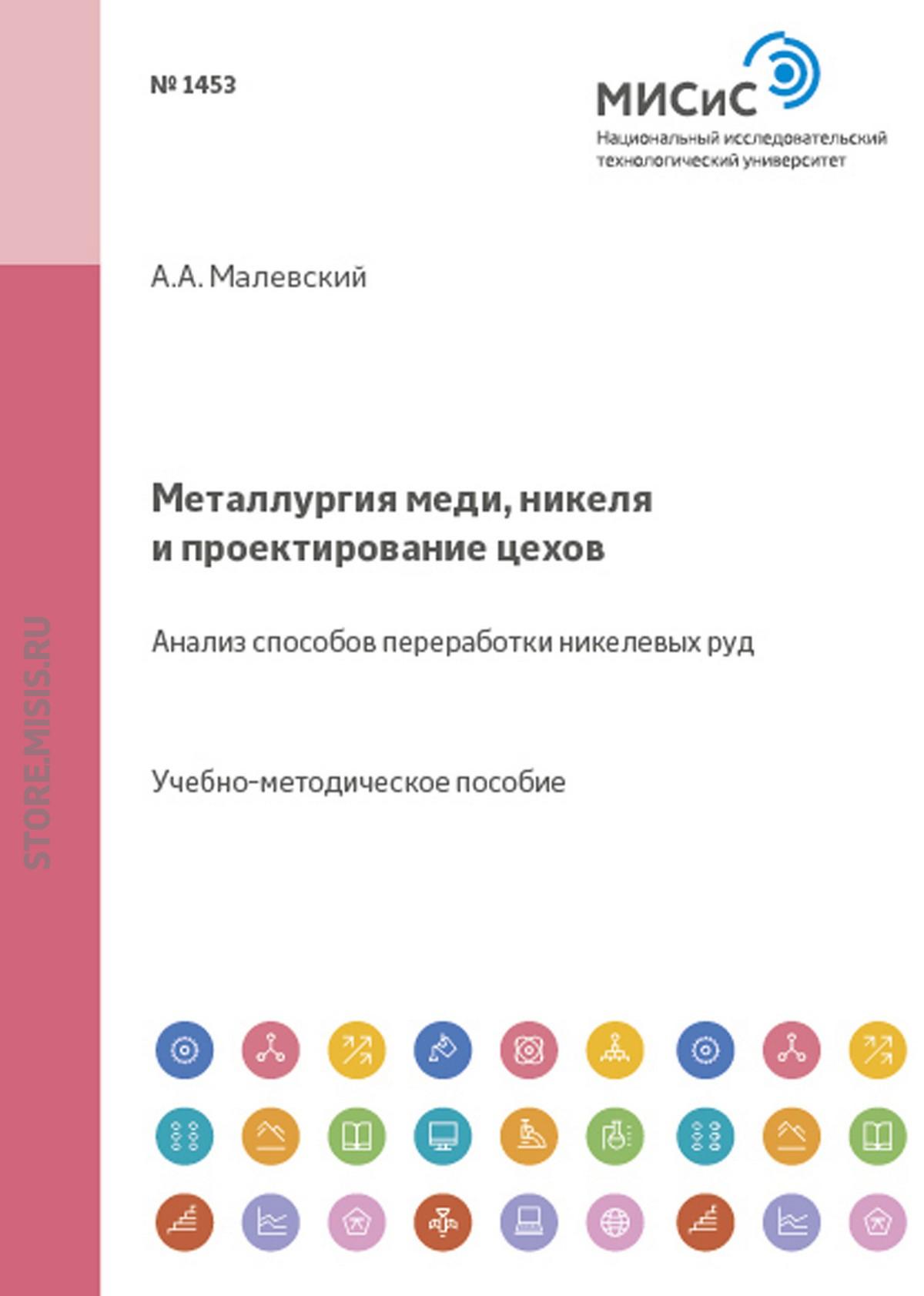 Алексей Малевский Металлургия меди, никеля и проектирование цехов. Анализ способов переработки никелевых руд
