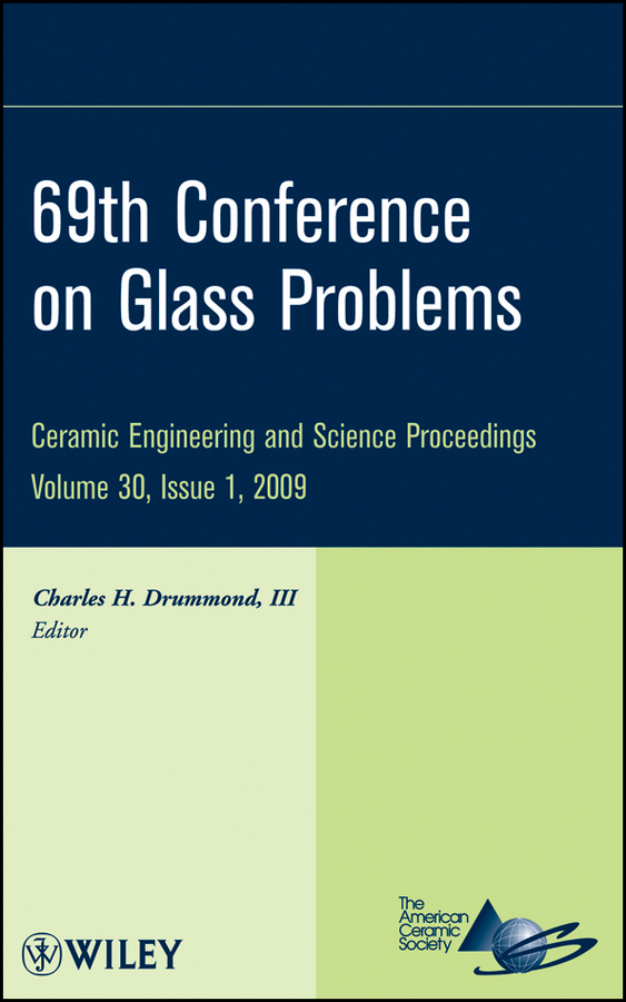 Charles H. Drummond, III 69th Conference on Glass Problems iowa state university padded swivel bar stool 30 inches high