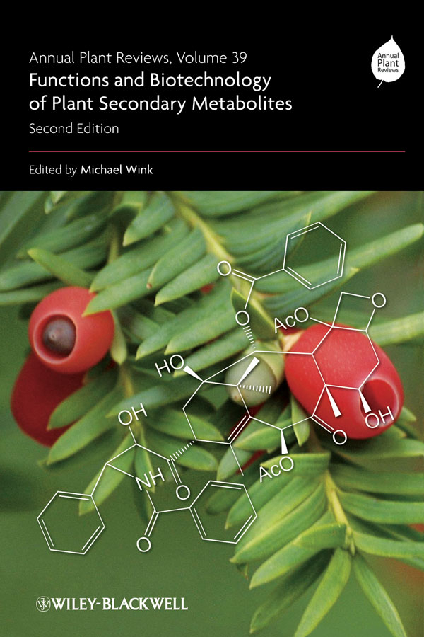 Michael Wink Annual Plant Reviews, Functions and Biotechnology of Plant Secondary Metabolites michael wink annual plant reviews functions and biotechnology of plant secondary metabolites