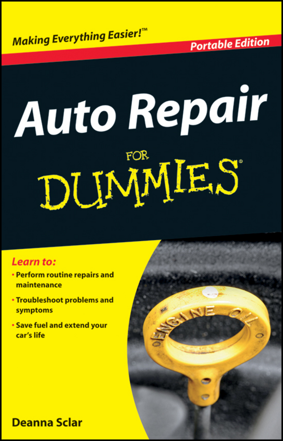 Deanna Sclar Auto Repair For Dummies change your life
