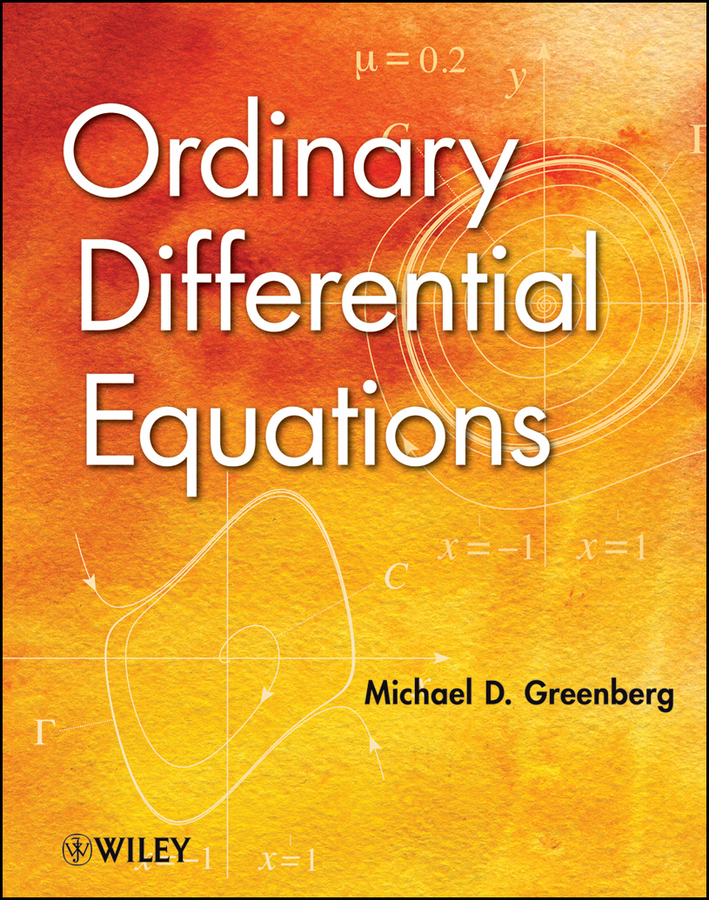 Michael Greenberg D. Ordinary Differential Equations