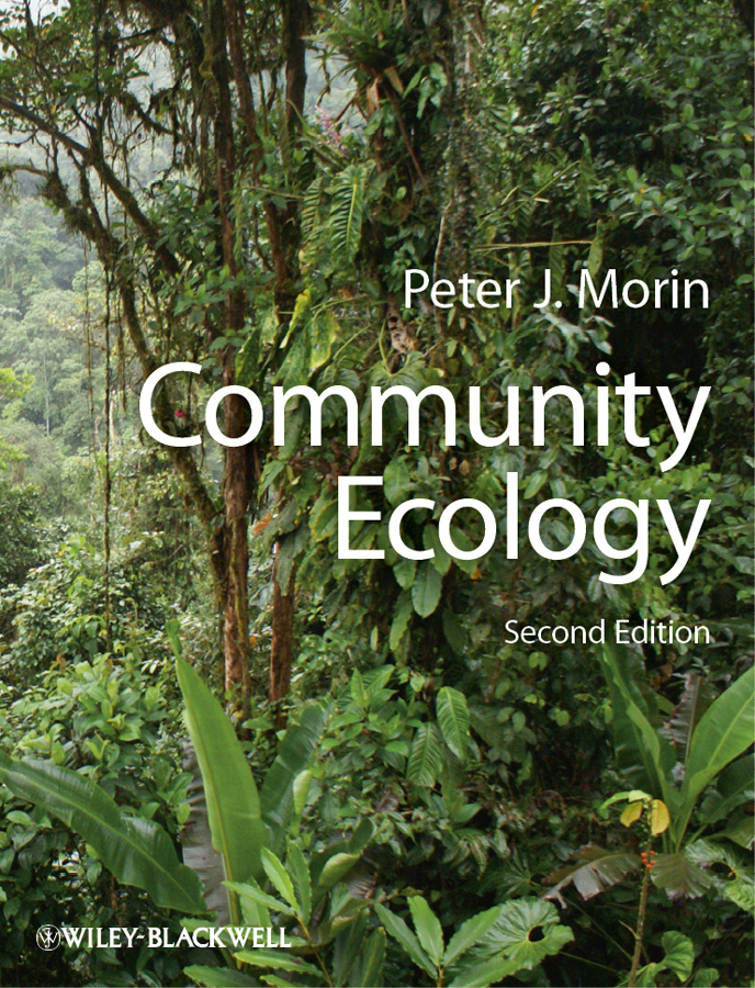 Peter Morin J. Community Ecology modelling microclimates in forests using remotely sensed data