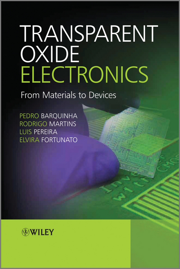 Pedro Barquinha Transparent Oxide Electronics. From Materials to Devices the number of displays with intelligent control electronics equipment work points counter