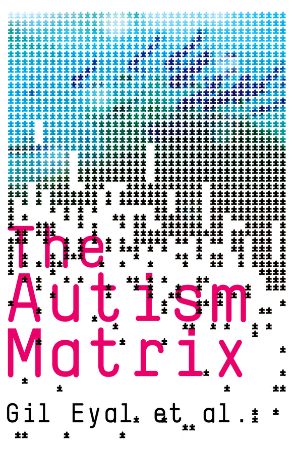 Gil Eyal The Autism Matrix wear blue for autism
