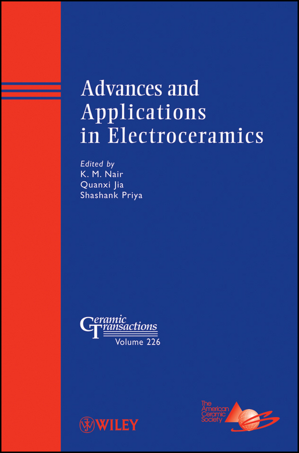 Shashank Priya Advances and Applications in Electroceramics недорго, оригинальная цена
