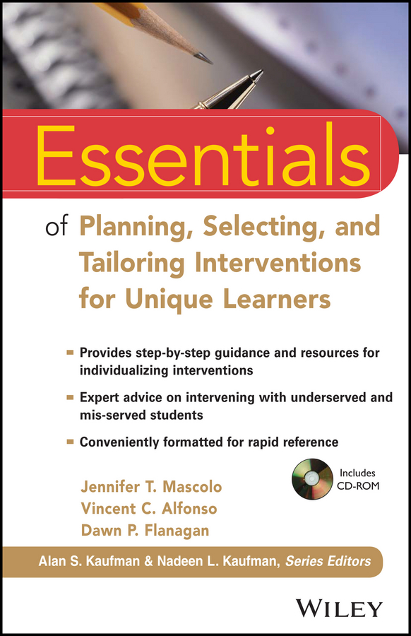 Фото - Vincent Alfonso C. Essentials of Planning, Selecting, and Tailoring Interventions for Unique Learners hae soo kwak nano and microencapsulation for foods