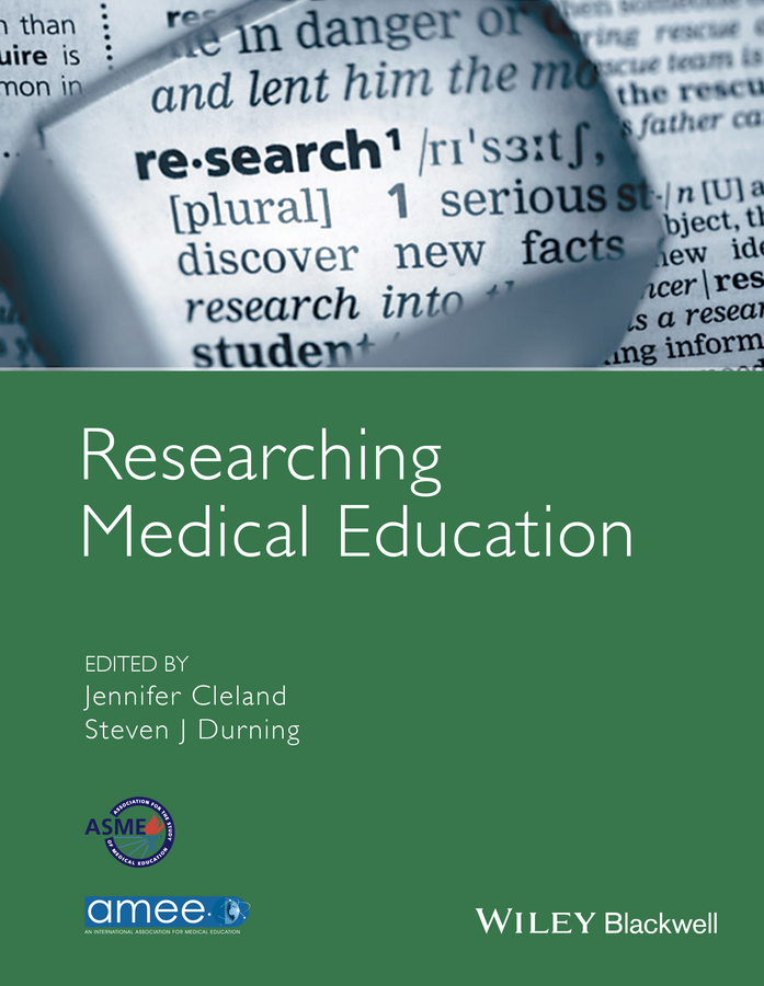 Jennifer Cleland Researching Medical Education standards in education pb