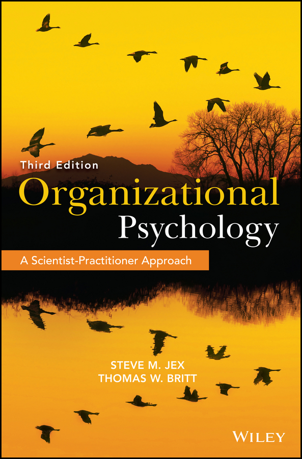Thomas Britt W. Organizational Psychology. A Scientist-Practitioner Approach effects of departmentalization on students socially and academically