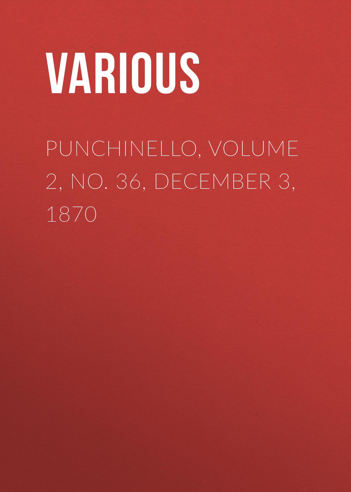 Punchinello, Volume 2, No. 36, December 3, 1870