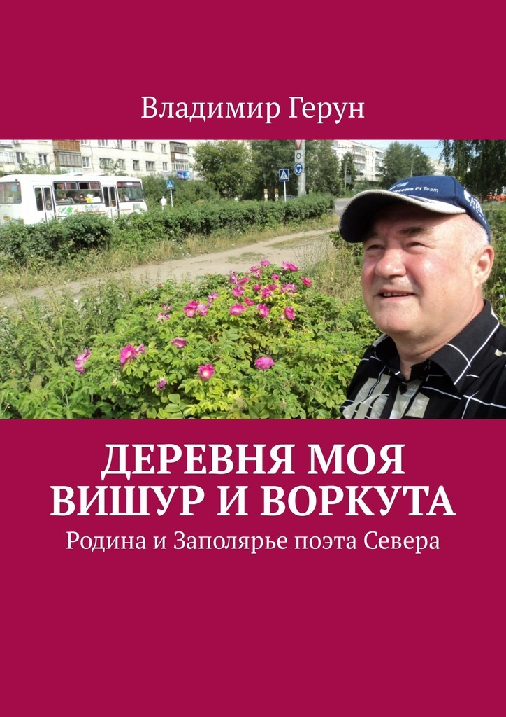 Владимир Герун Деревня моя Вишур иВоркута. Родина иЗаполярье поэта Севера цена и фото