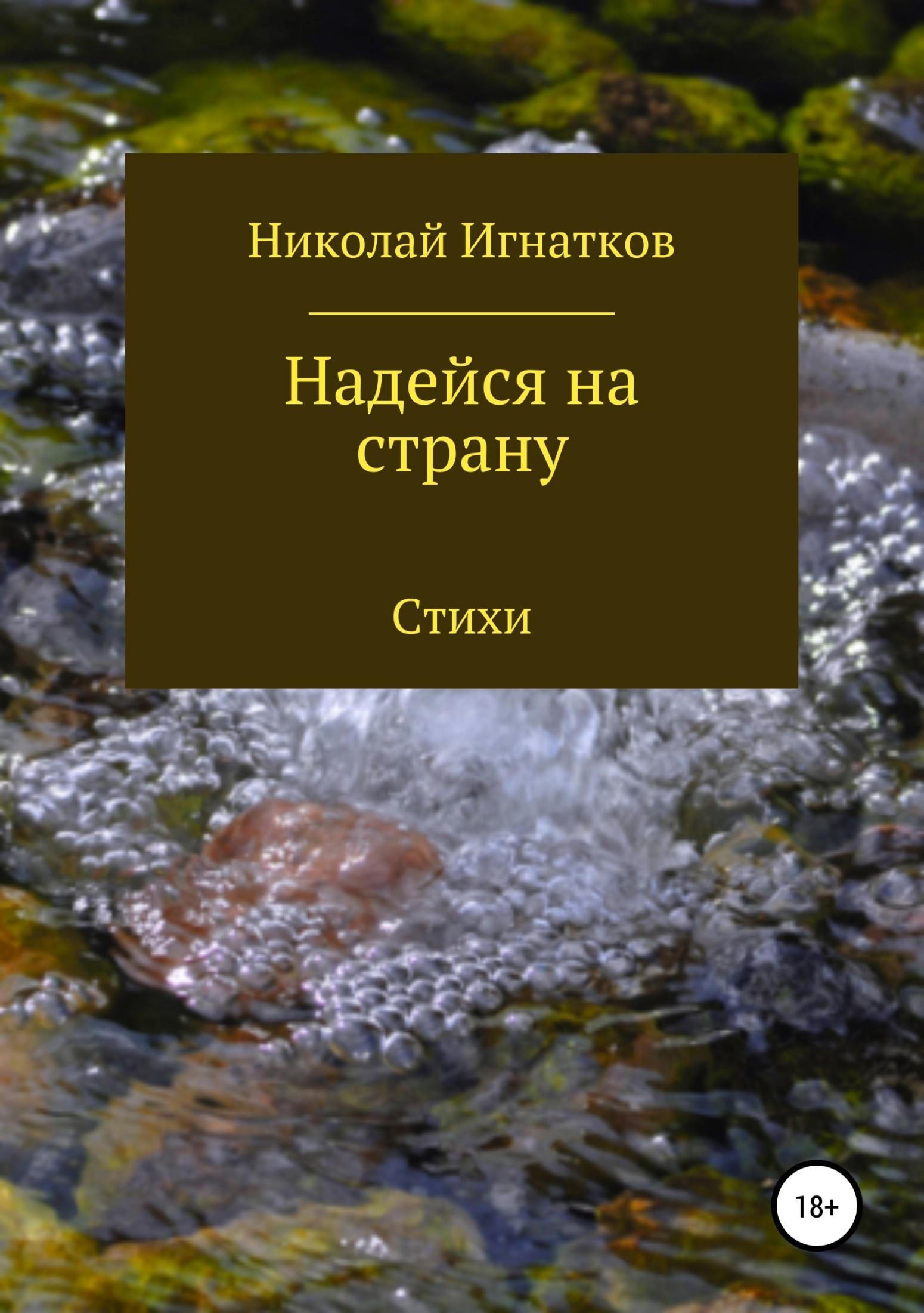 Николай Викторович Игнатков Надейся на страну. Сборник стихотворений цена