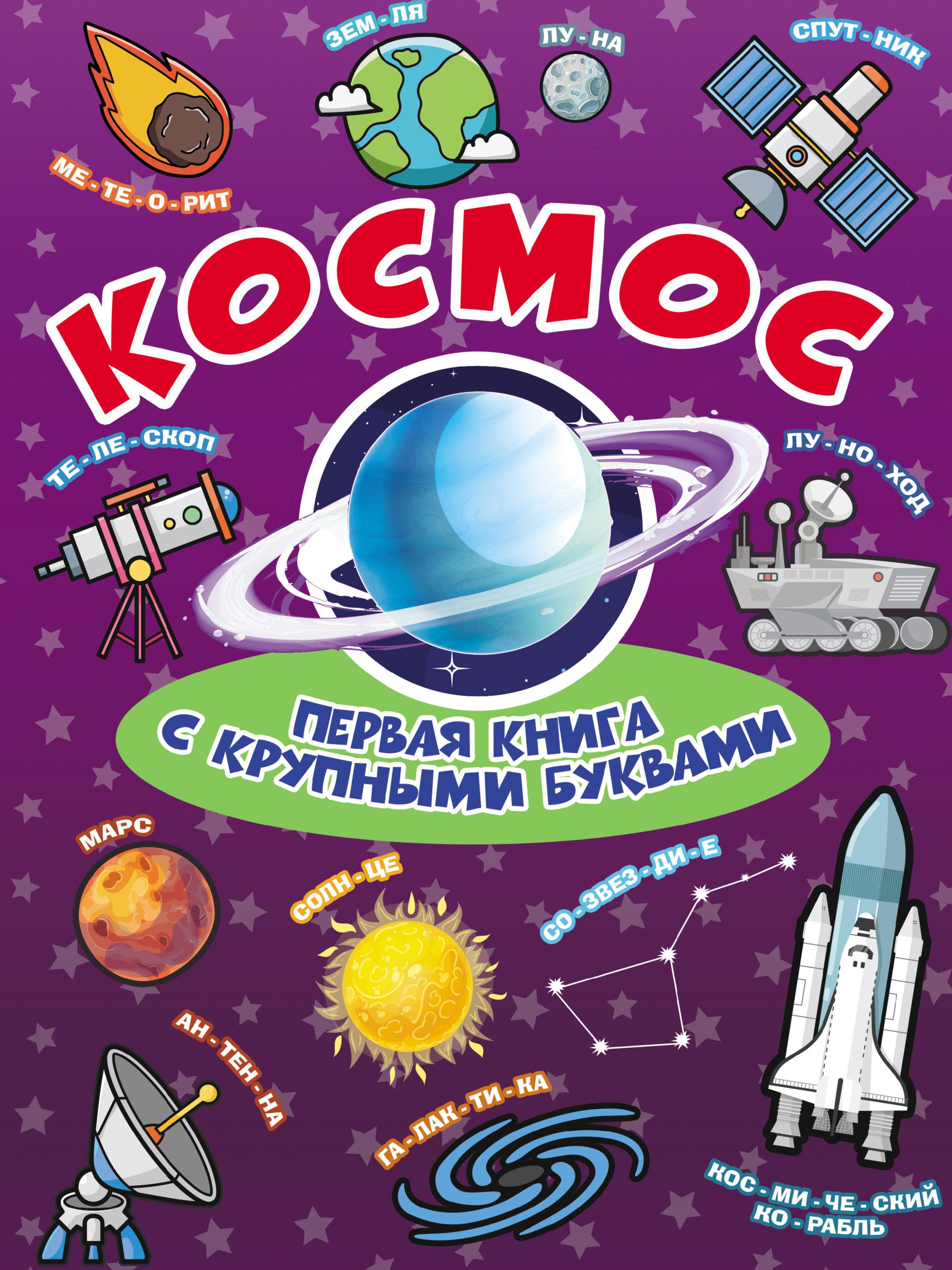 Е. О. Хомич Космос. Первая книга с крупными буквами е о хомич космос первая книга с крупными буквами