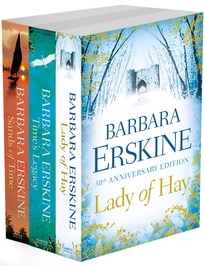 Barbara Erskine Barbara Erskine 3-Book Collection: Lady of Hay, Time's Legacy, Sands of Time цена