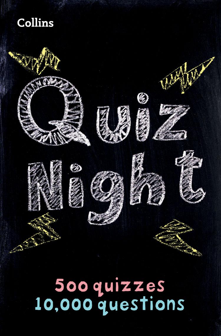 Collins Puzzles Collins Quiz Night: 10,000 original questions in 500 quizzes dinosaur quizzes
