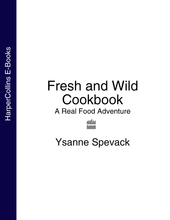 Ysanne Spevack Fresh and Wild Cookbook: A Real Food Adventure newlywed cookbook