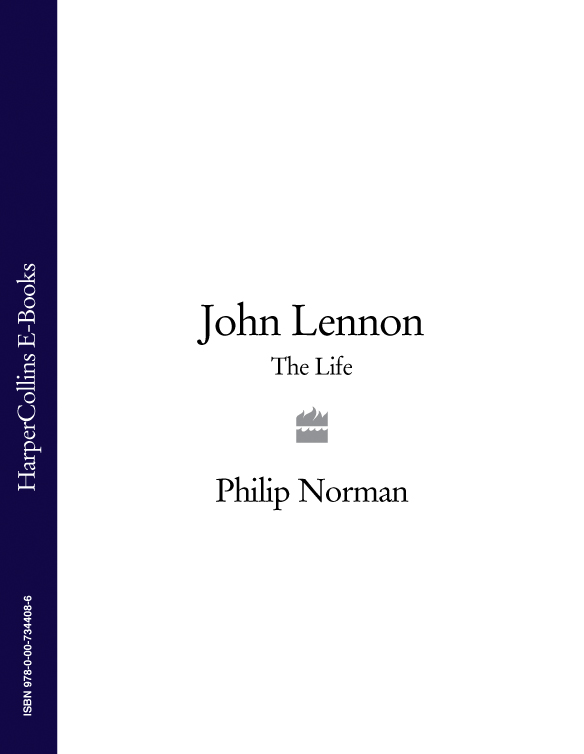 Philip Norman John Lennon: The Life john norman marauders of gor
