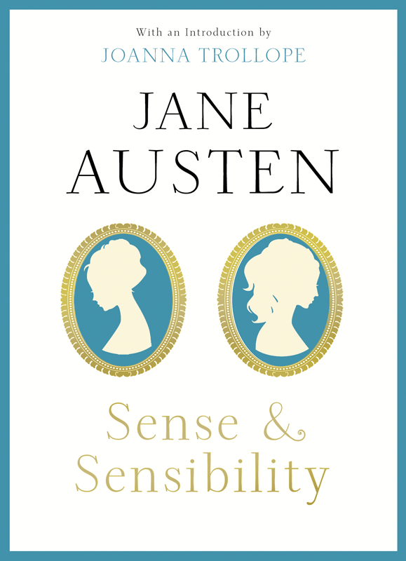 Sense&Sensibility: With an Introduction by Joanna Trollope