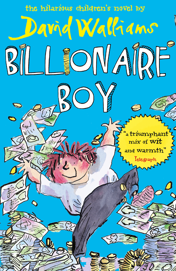 David Walliams Billionaire Boy кофта billionaire