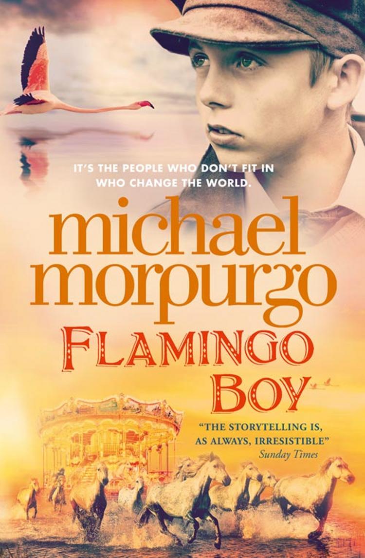 Michael Morpurgo Flamingo Boy the storyteller