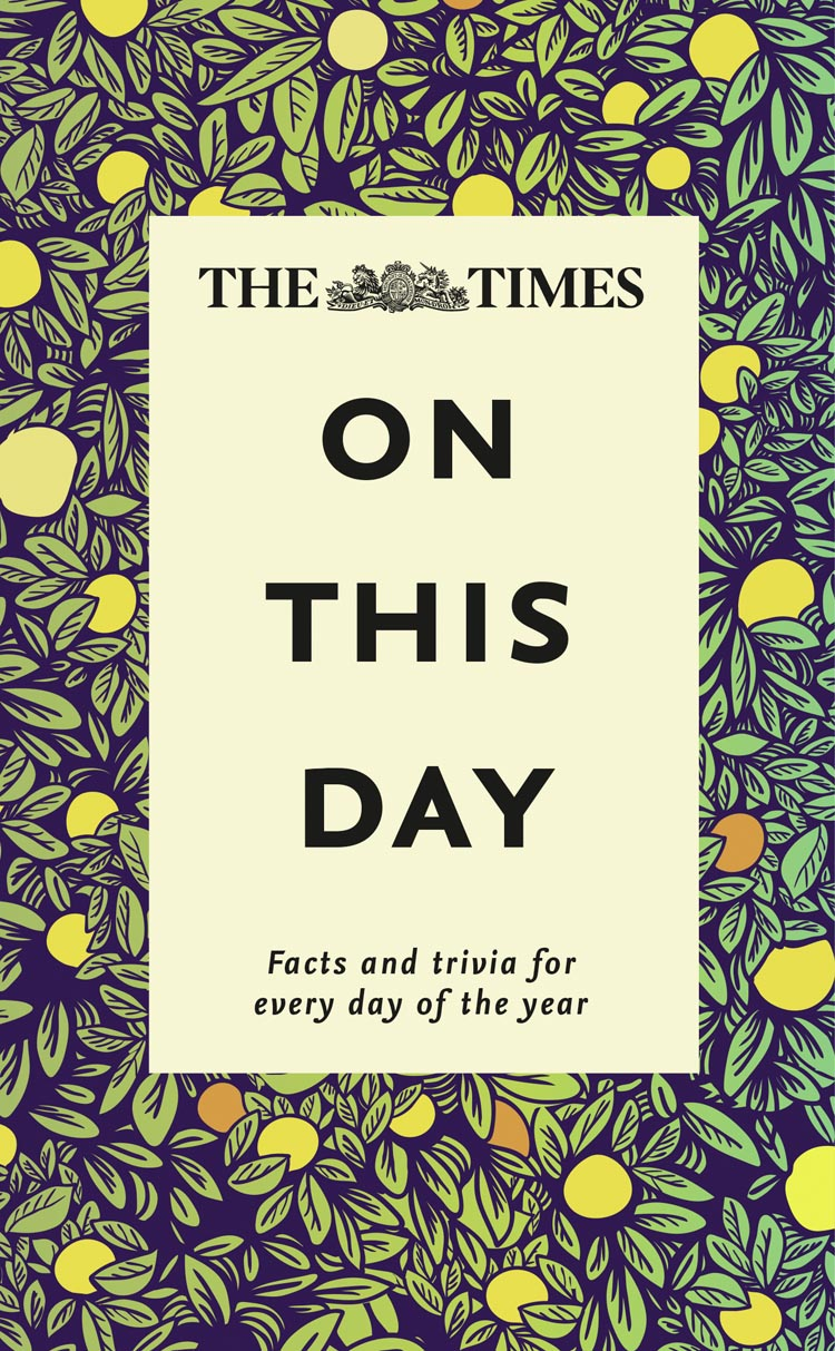 цены на James Owen The Times On This Day: Facts and trivia for every day of the year  в интернет-магазинах