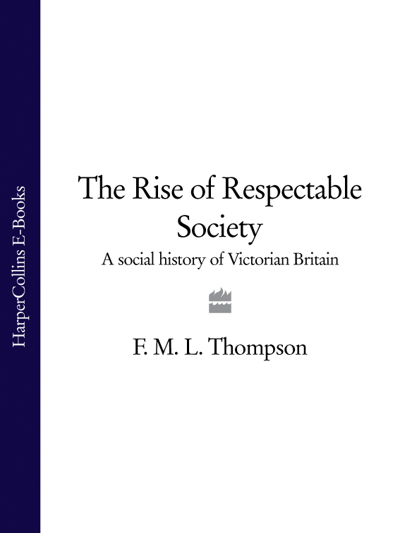 Литагент HarperCollins USD The Rise of Respectable Society: A Social History of Victorian Britain цена