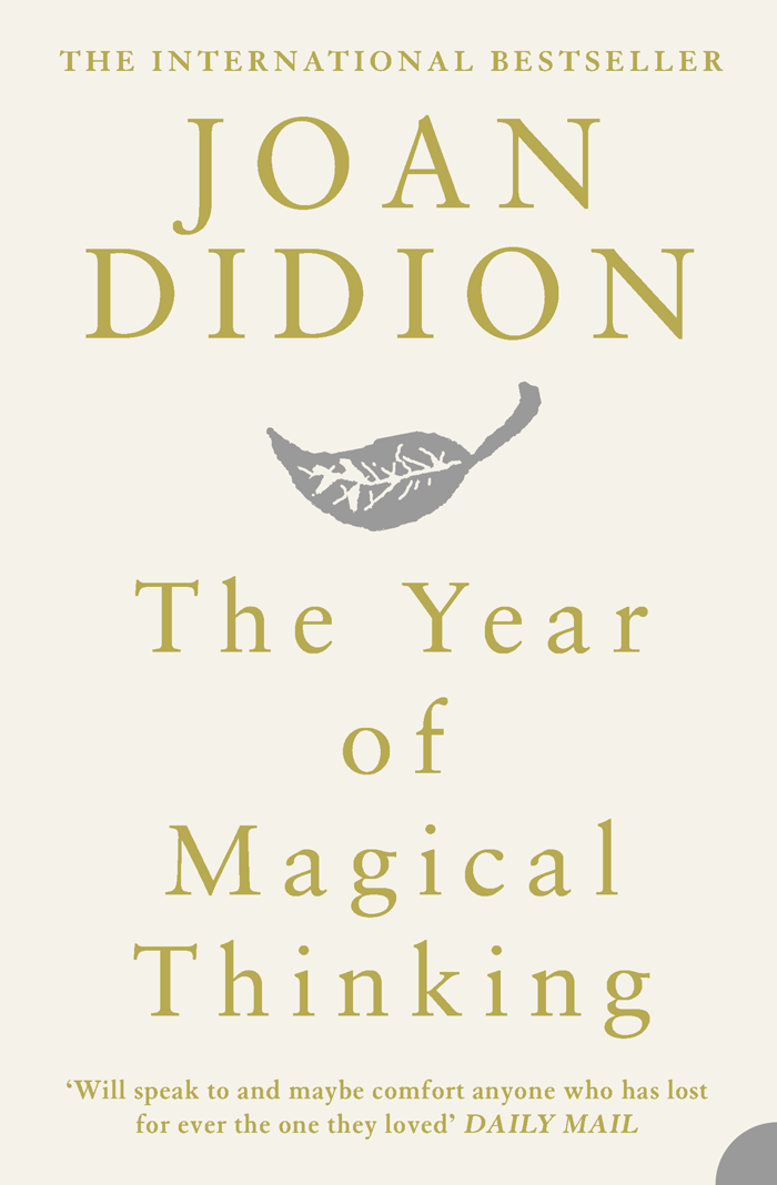 Joan Didion The Year of Magical Thinking цена