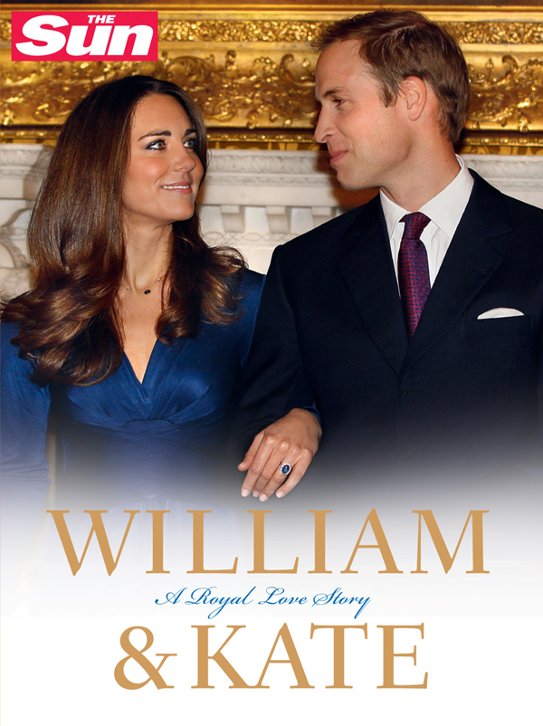 The Sun William and Kate: A Royal Love Story lindop christine william and kate