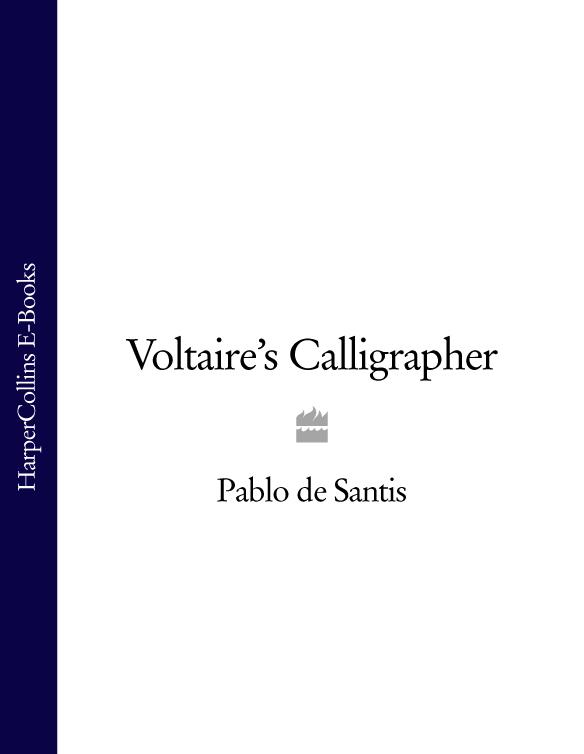 Pablo Santis de Voltaire's Calligrapher pablo alborán tarragona