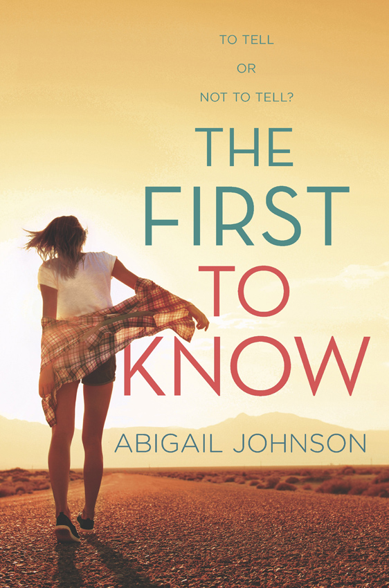 Abigail Johnson The First To Know janice johnson kay first comes baby