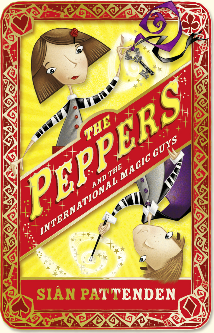 Sian Pattenden The Peppers and the International Magic Guys the bobbsey twins at the seashore