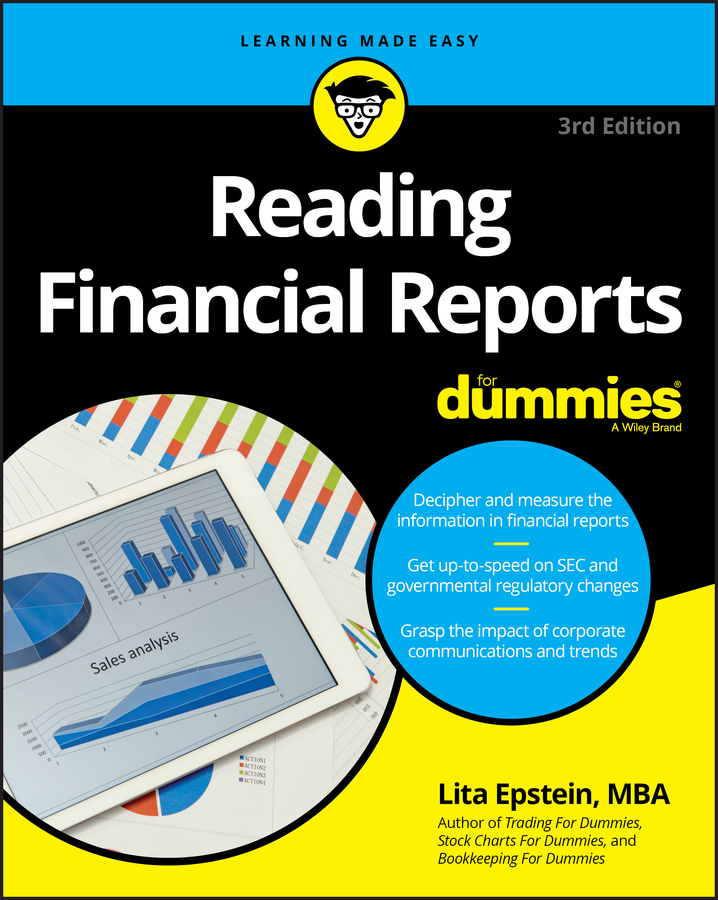 Lita Epstein Reading Financial Reports For Dummies