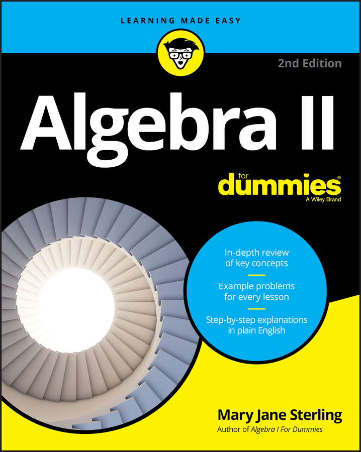 Mary Sterling Jane Algebra II For Dummies