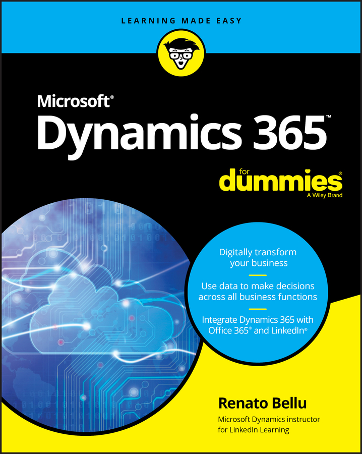Renato Bellu Microsoft Dynamics 365 For Dummies flight dynamics principles