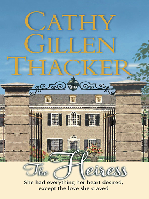 Cathy Thacker Gillen The Heiress cathy thacker gillen a baby in the bunkhouse