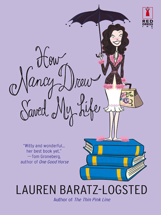 Lauren Baratz-Logsted How Nancy Drew Saved My Life nancy drew 10