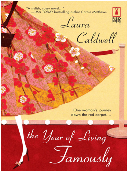 Laura Caldwell The Year Of Living Famously blouse b2257 seintilla