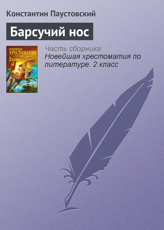 К. Г. Паустовский Барсучий нос цена в Москве и Питере
