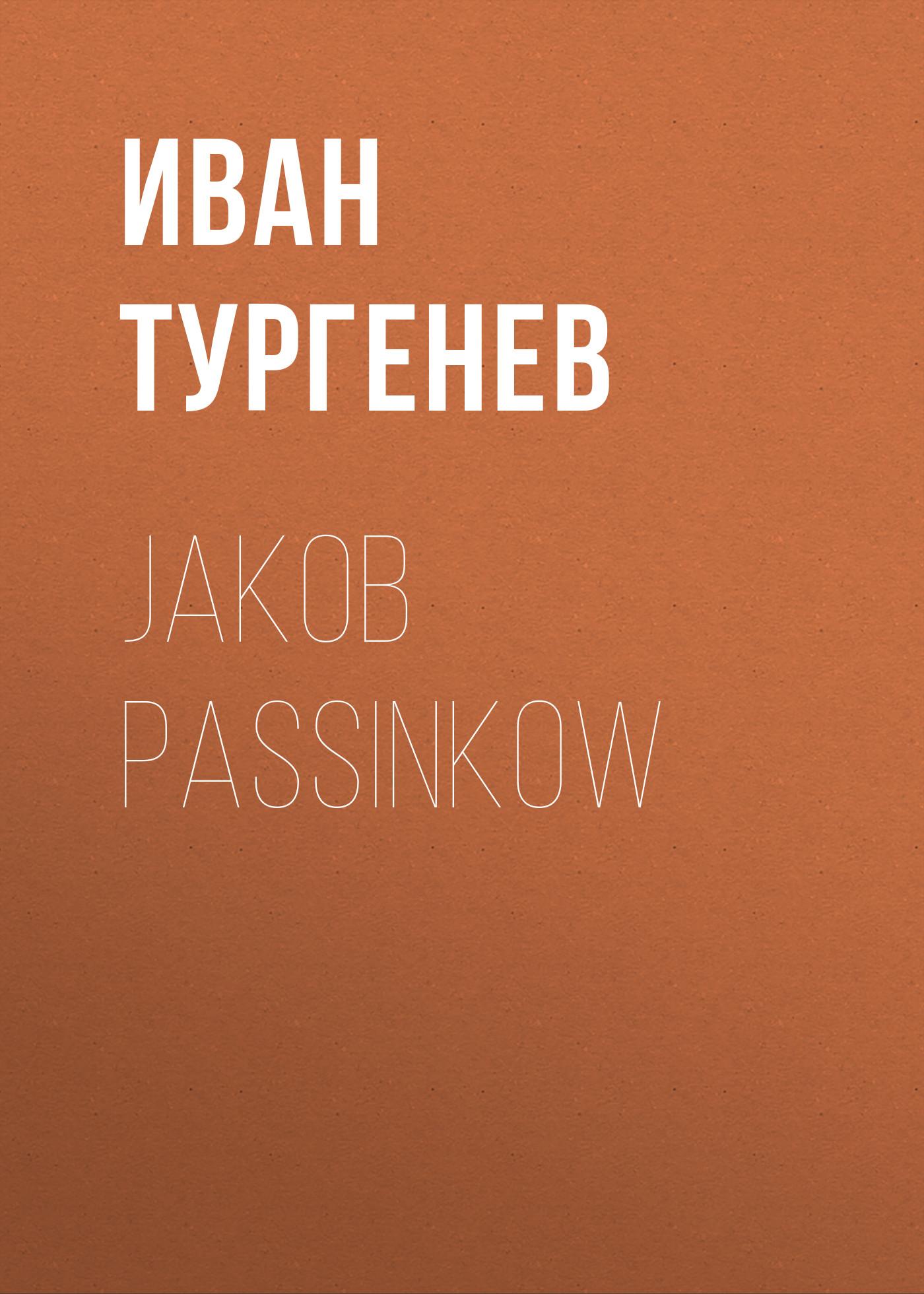 jakob passinkow