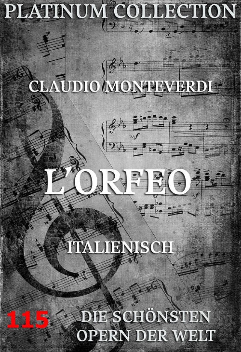 Claudio Monteverdi L'Orfeo claudio baglioni assago