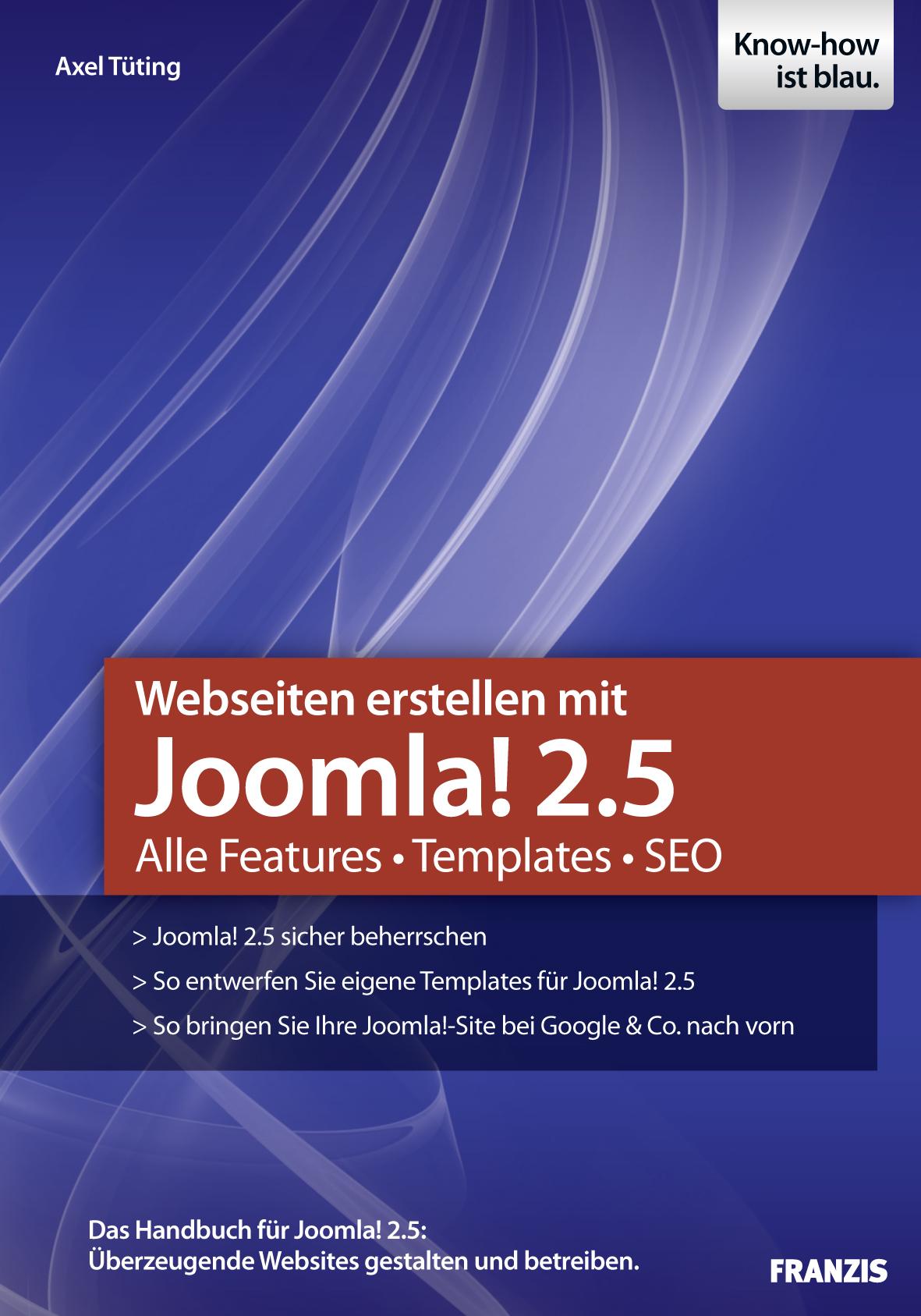 Axel Tuting Webseiten erstellen mit Joomla! 2.5