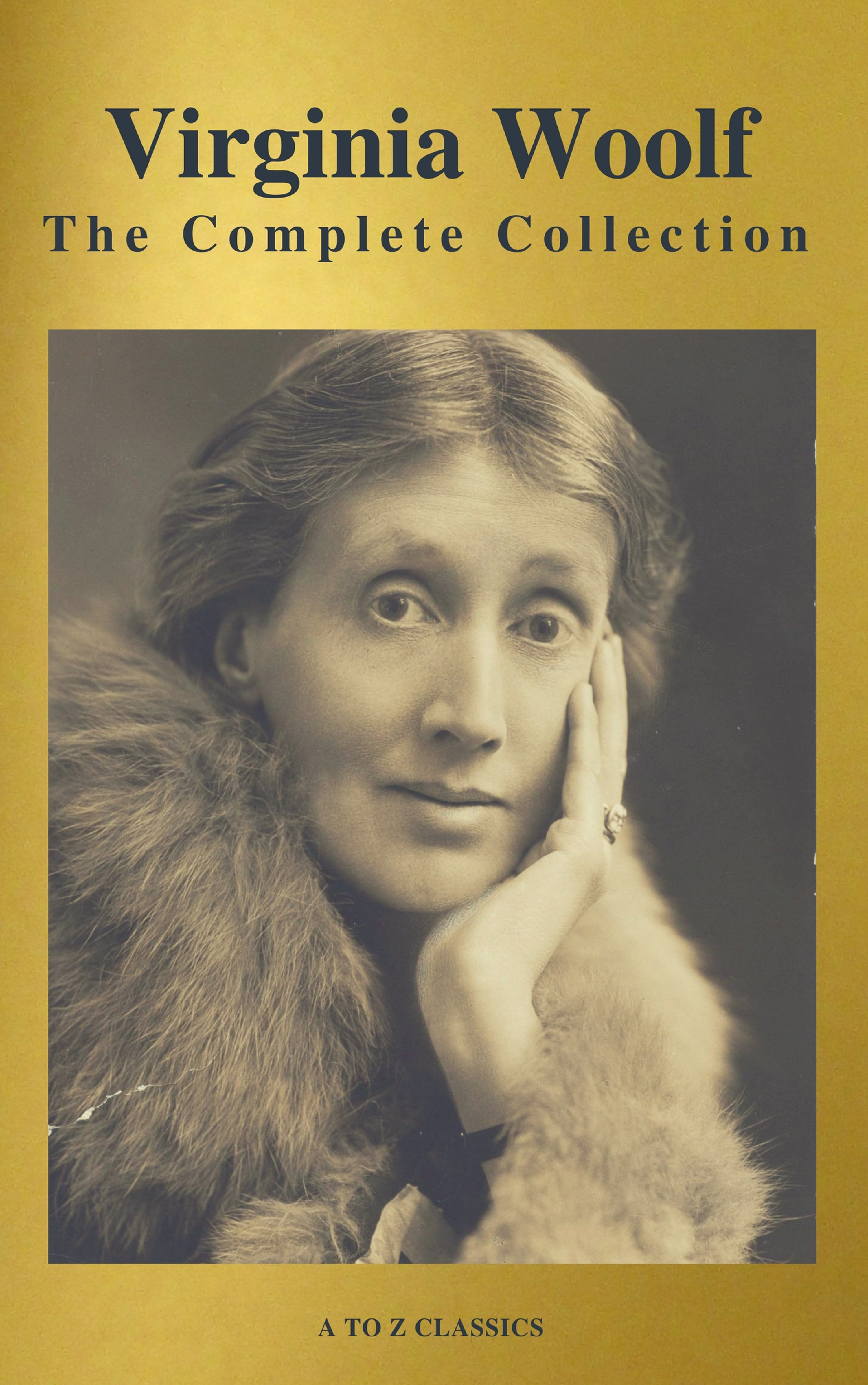 virginia woolf the complete collection active toc a to z classics
