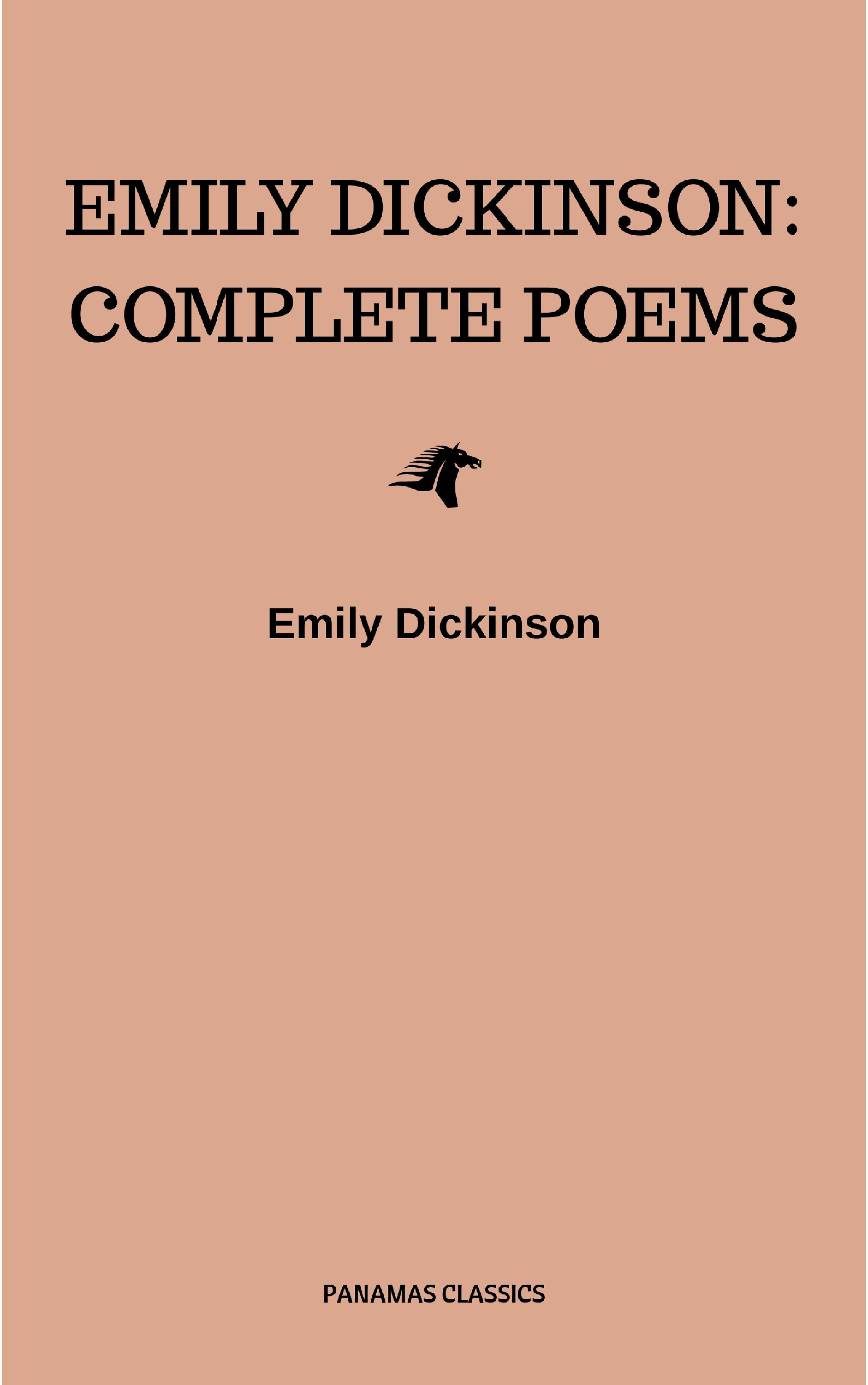 Emily Dickinson Emily Dickinson: Complete Poems emily