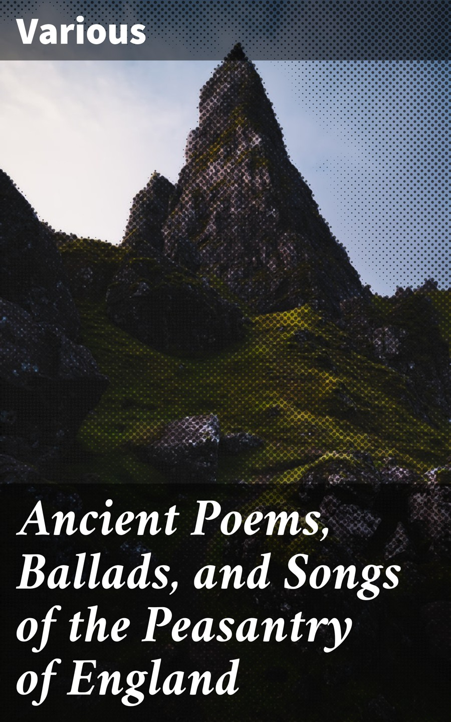 Various Ancient Poems, Ballads, and Songs of the Peasantry of England стоимость