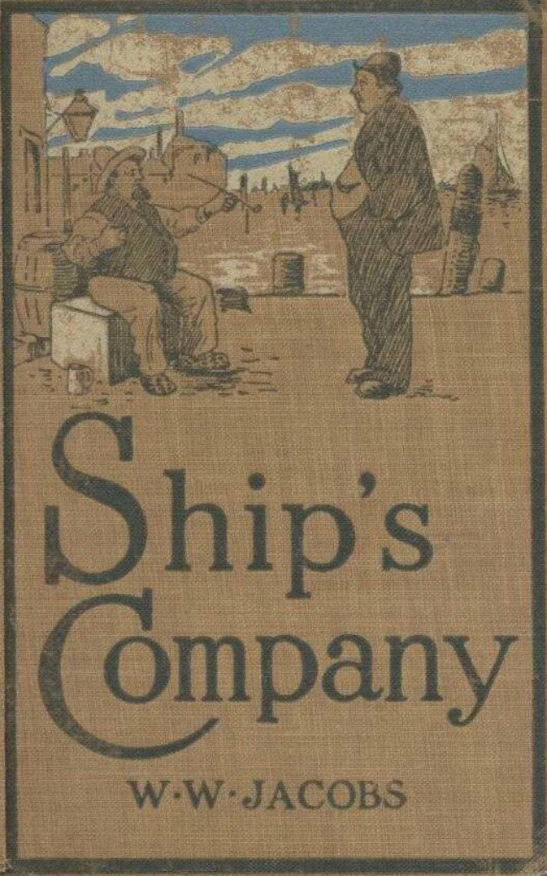 W. W. Jacobs The Old Man of the Sea : Ship's Company w w hardwicke sunday and the sabbath question