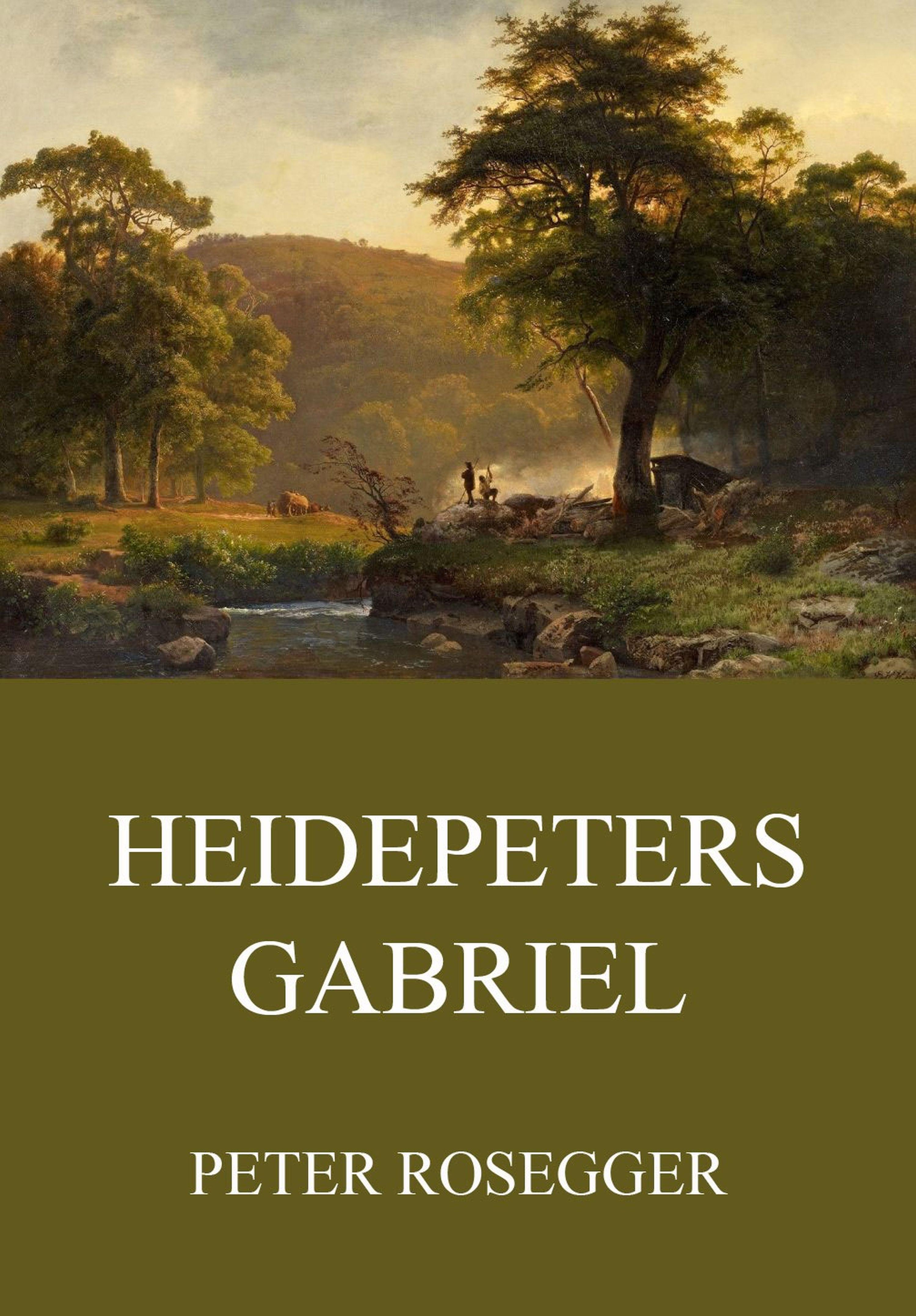 Peter Rosegger Heidepeters Gabriel