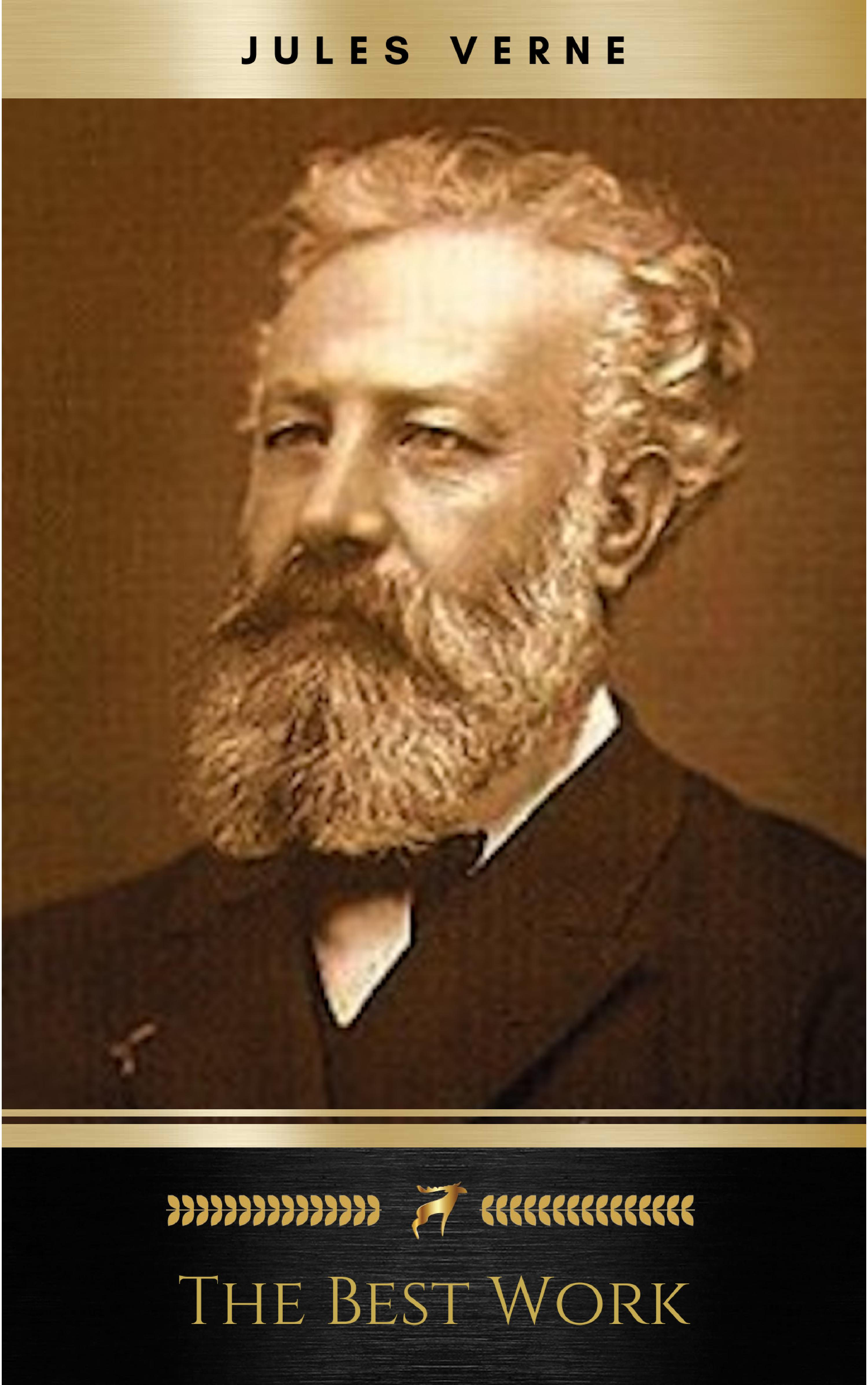 jules verne the classics novels collection golden deer classics included 19 novels 20000 leagues under the seaaround the world in 80 daysa journey int